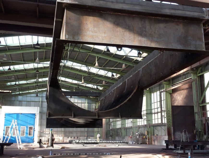 Výroba šnekovej turbíny